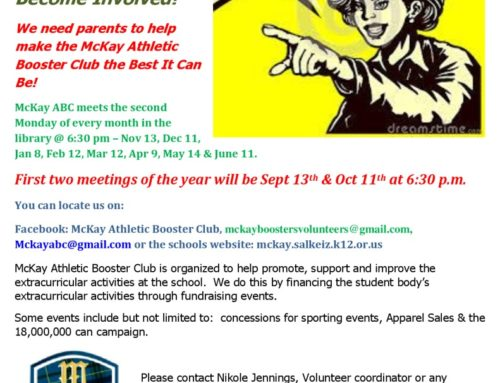 McKay's Athletic Booster Club