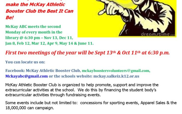 thumbnail of Athletic Booster Club