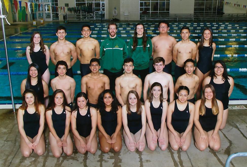 2016-17 McKay Swim Team
