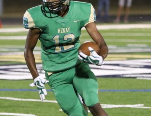 McKay Football Player Selected as Athlete of the Week