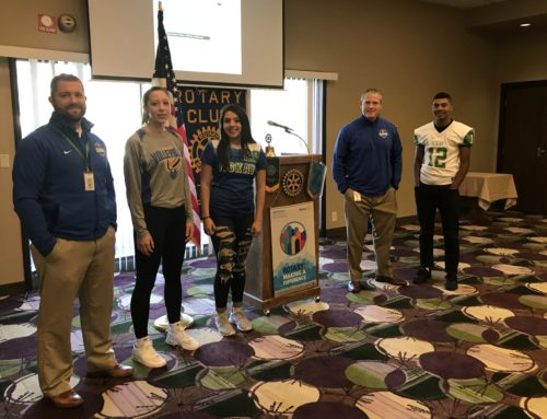East Salem Rotary Hosts McKay Athletes