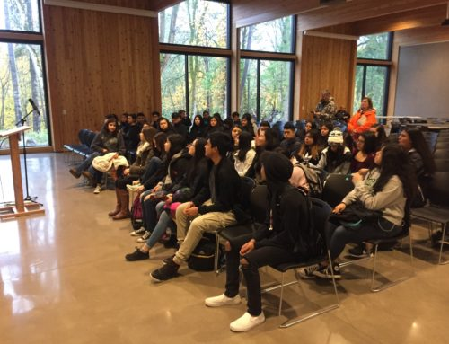 Avid 9th Graders Visit George Fox College