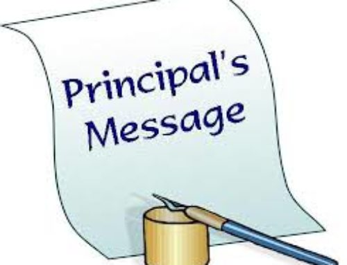 Principal's Update November 15, 2017