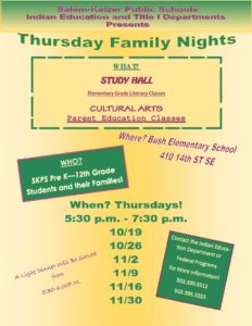 thumbnail of THURSDAY FAMILY NIGHT FLIER