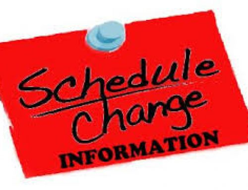 Online Schedule Change Request Form: