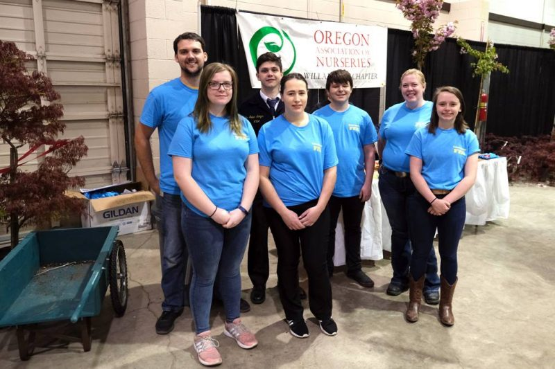 FFA students at Oregon Ag Fest 2019