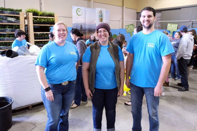 FFA teachers at Oregon Ag Fest 2019