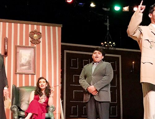 McKay stages rollicking version of 'Clue'