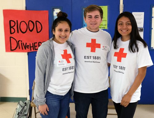 McKay Students Help Red Cross By Donating Blood