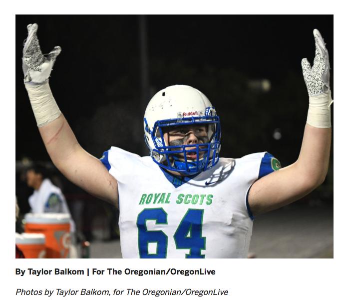 Oregonian Article