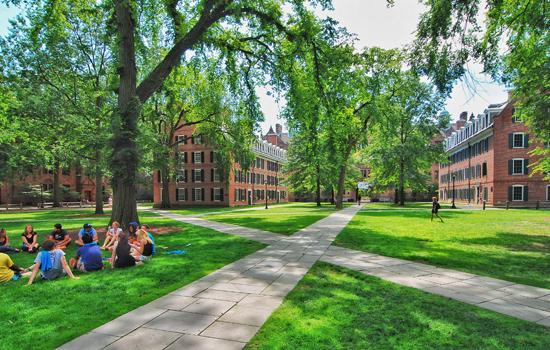 beautiful college campus