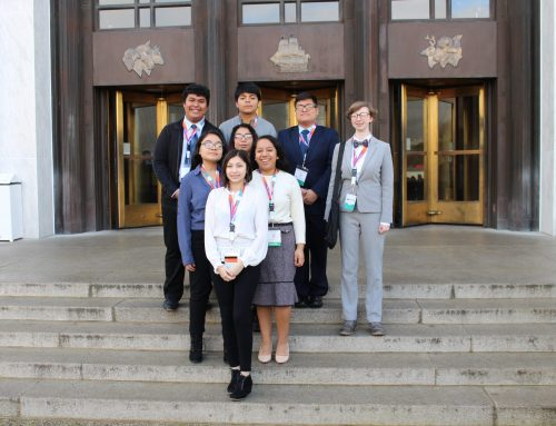 McKay Delegation at Youth & Government Legislative Session