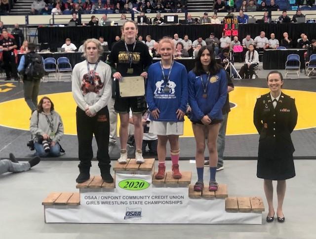 Tess Barnett State Champ
