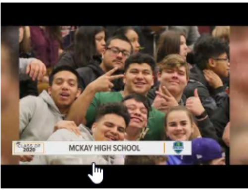 KGW Salutes the Class of 2020 at McKay High School in Salem!