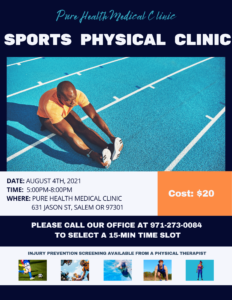 Pure Health Clinic Physicals