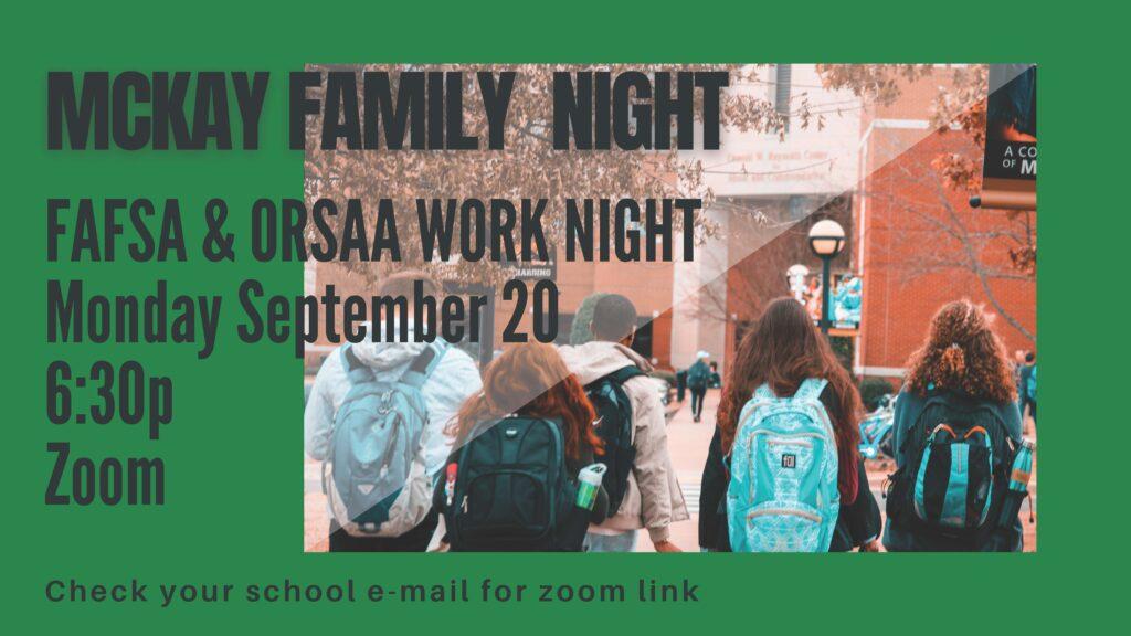 FAFSA Night 2